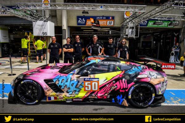 17 & 18 juin 2017 – Emotional Cars en la personne d'Eric Cusson qui officiait au sein de la Team dans la course au 24H du Mans 2018 avec Larbre Compétition